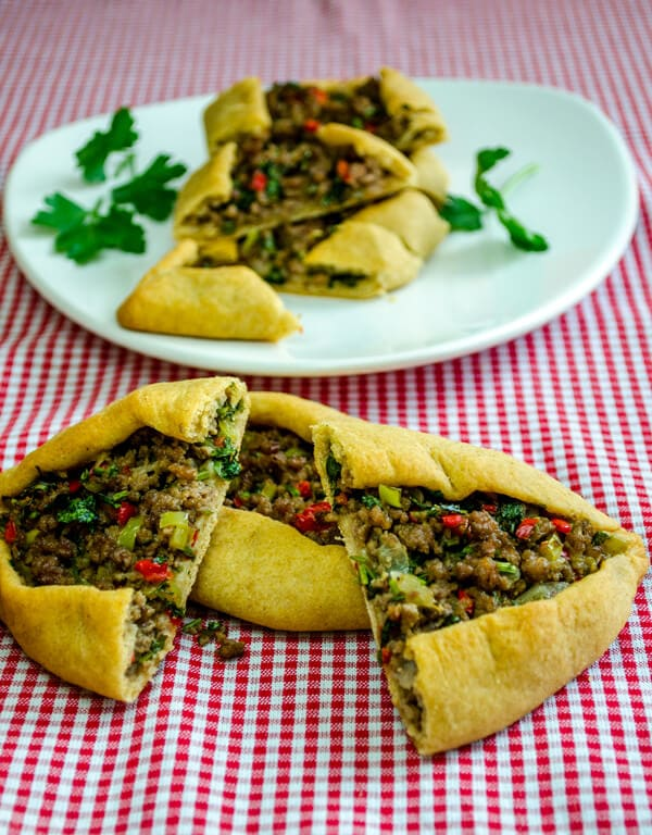 Turkish Pide with Ground Beef1
