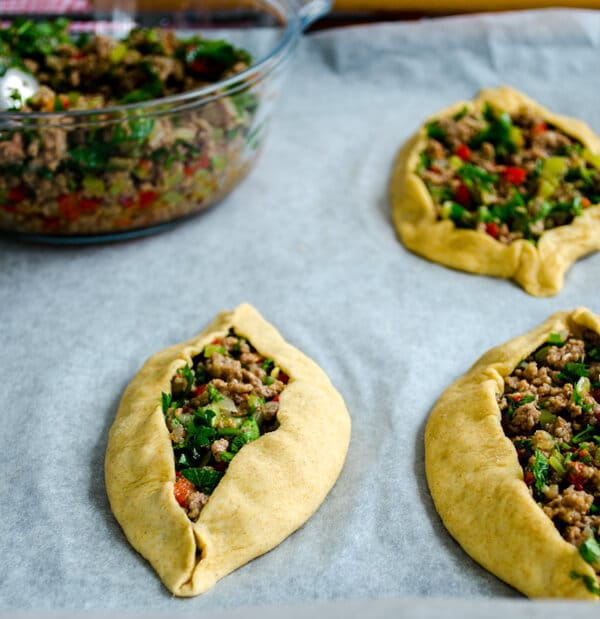 Turkish Pide with Ground Beef10