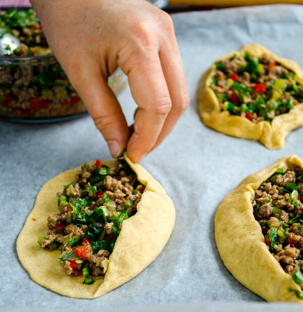 Turkish Pide with Ground Beef8