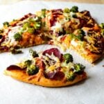 whole wheat pizza with broccoli1 150x150