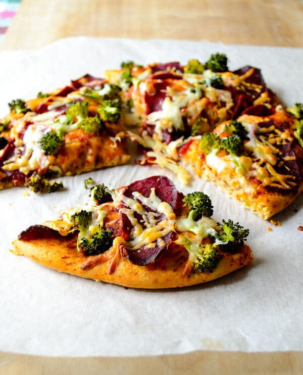 whole wheat pizza with broccoli1
