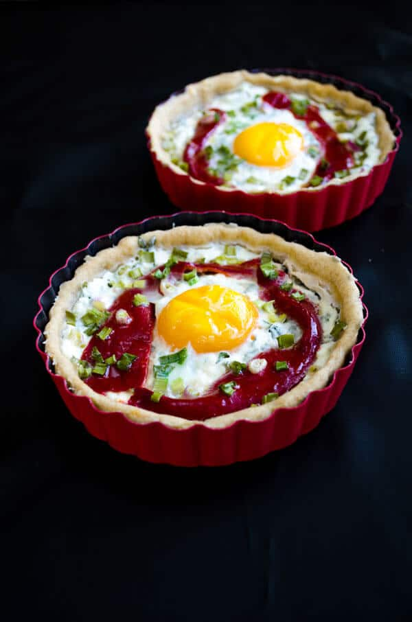 Cheese #Tart with #Egg