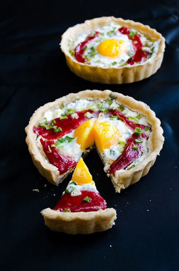 Cheese Tart with Egg2