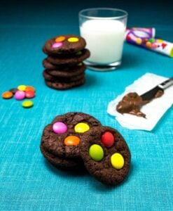 Chewy #Chocolate #M&M #Cookies1