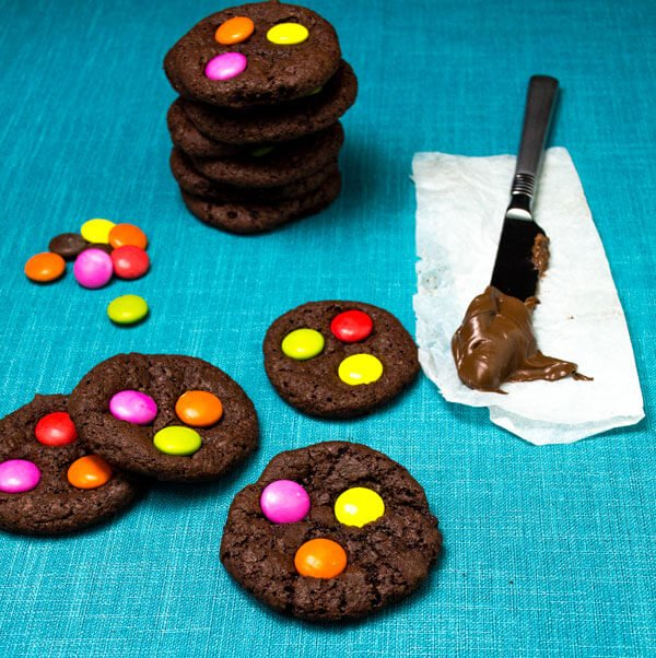 Chewy #Chocolate #M&M #Cookies