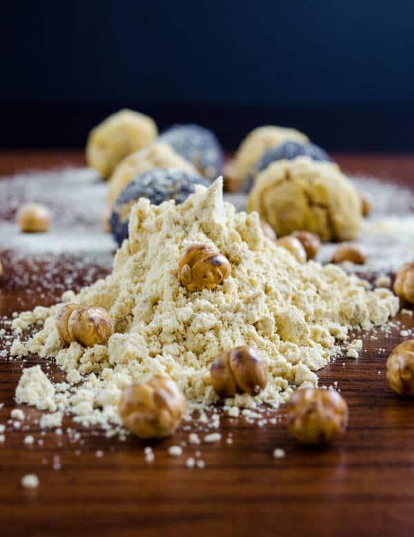 Roasted #Chickpea Flour #Cookies
