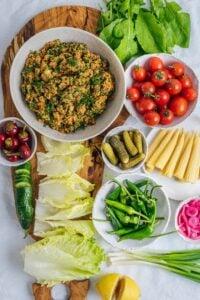 Turkish Bulgur Salad Kisir