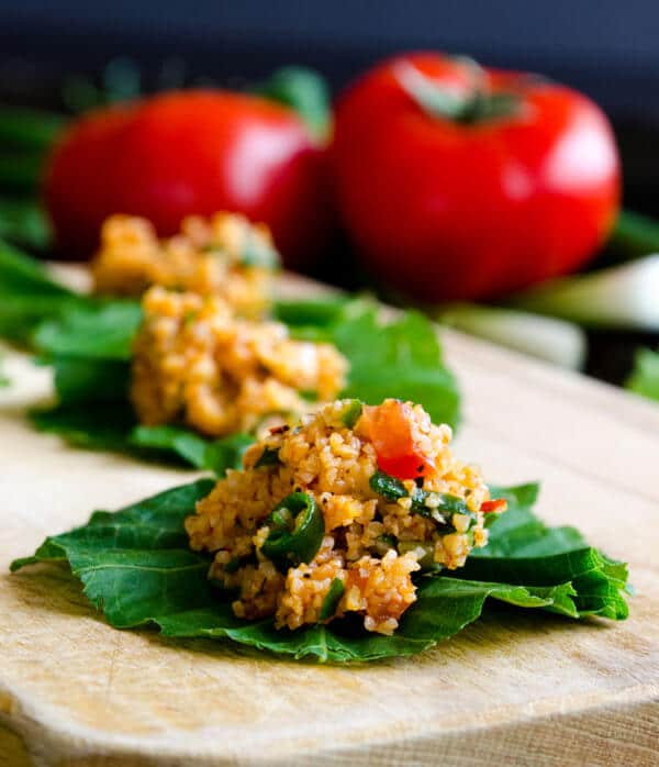 Turkish #Bulgur #Salad #Kisir