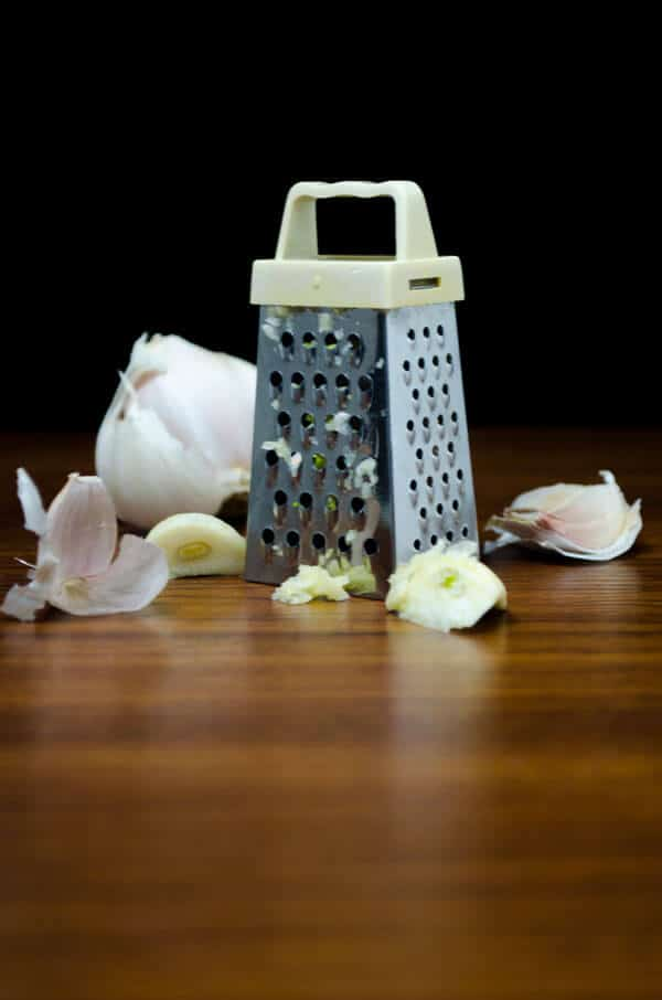 my little #garlic #grater