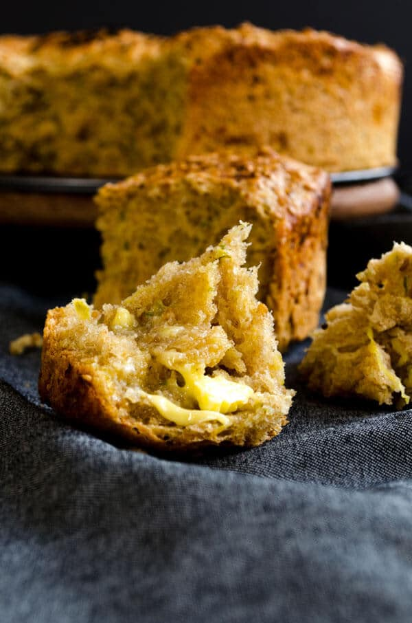 Fluffy Zucchini Bread | #zucchini #bread #baking | giverecipe.com