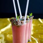 Simple Strawberry Milkshake