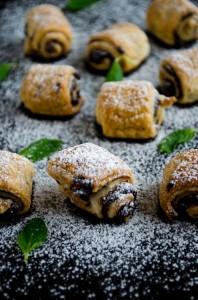 Chocolate Puff Pastry Rolls