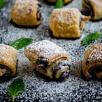 Chocolate Puff Pastry Rolls thumbnail