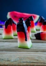 Chocolate-dipped #Watermelon
