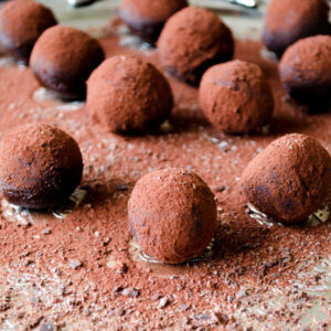 Cognac Chocolate Truffles