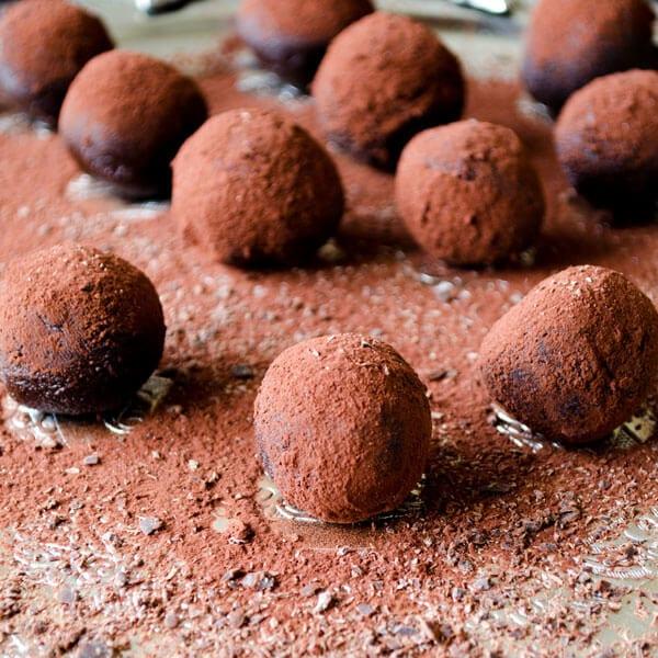 Cognac #Chocolate #Truffles