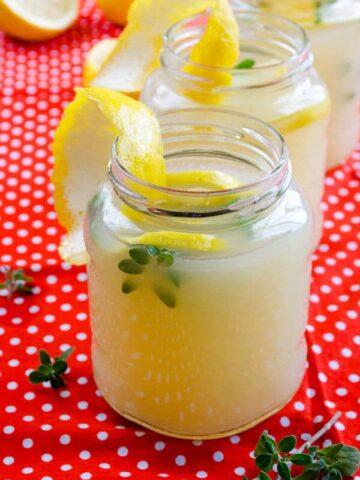 Fresh Homemade #Lemonade