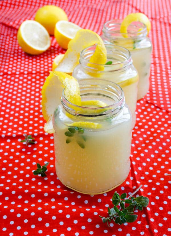 Fresh Homemade #Lemonade