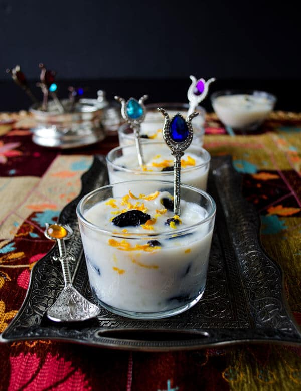Simple Turkish Rice Pudding