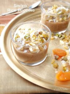 Spiced Rice Pudding-Guest Post