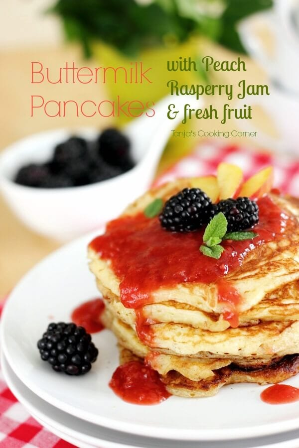 Buttermilk Pancakes- Guest Post