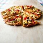 pepper and #mushroom #pizza