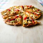 Pepper and Mushroom Pizza
