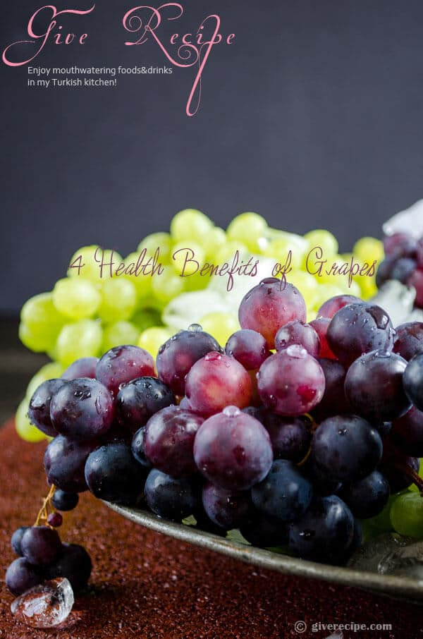 4 health benefits of grapes 1