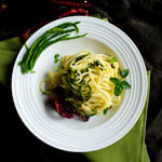 Asparagus Pasta with Sun-Dried Chili thumbnail