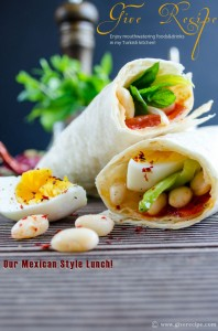 Bean #Burritos for Lunch