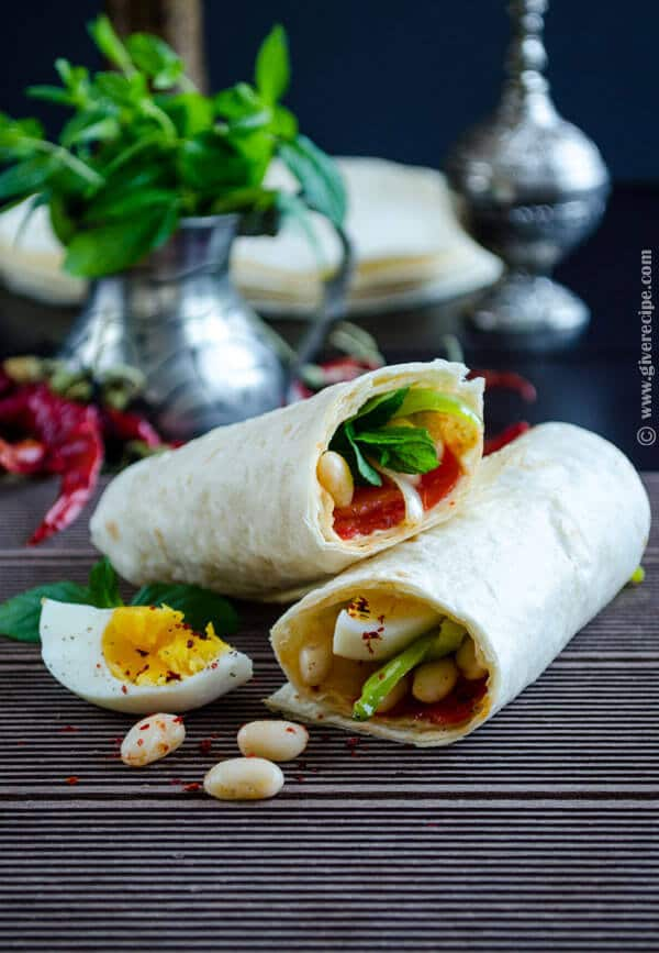 Bean Burritos for Lunch2
