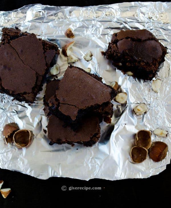 Double Chocolate Brownies | #chocolate #brownies #dessert | giverecipe.com