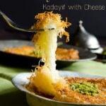 Turkish Kunefe Sweet Cheese Pastry