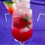Quick Watermelon Summer Drink