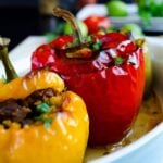 Bell Peppers Stuffed with Spelt and Lamb 1 150x150
