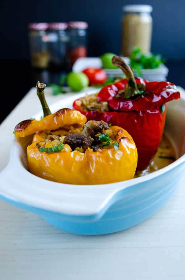 Bell Peppers Stuffed with Spelt and Lamb 2