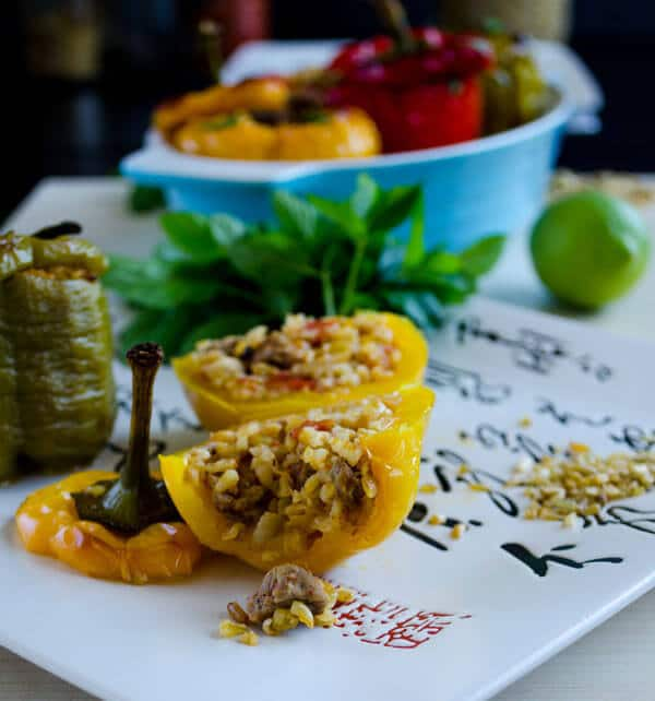 Bell Peppers Stuffed with Spelt and Lamb 3