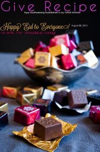 #Eid mubarak #chocolate