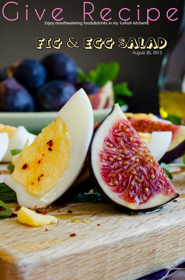 Fig and Egg Salad 1