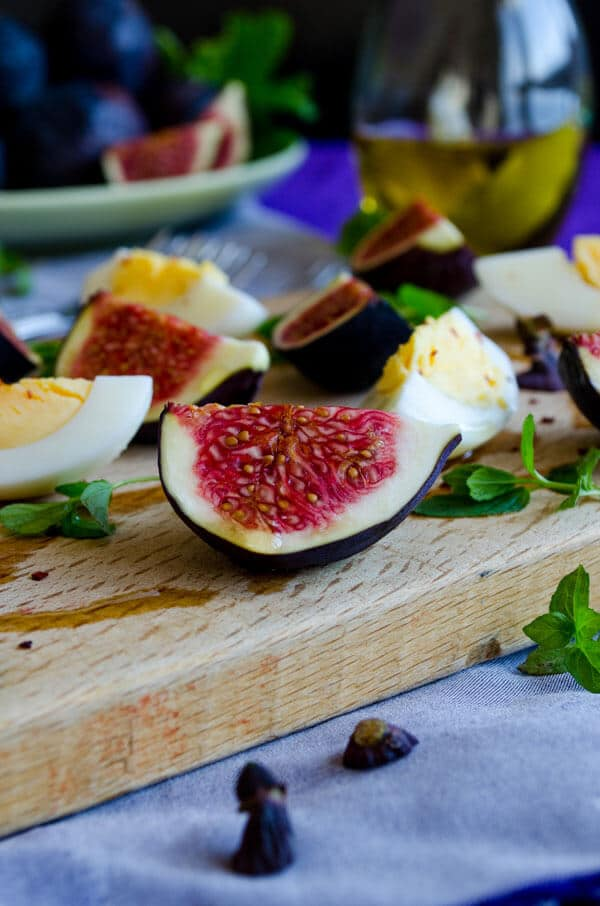 Fig and Egg Salad 4