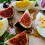 Fig and Egg Salad | #salad #fig #egg #breakfast | giverecipe.com