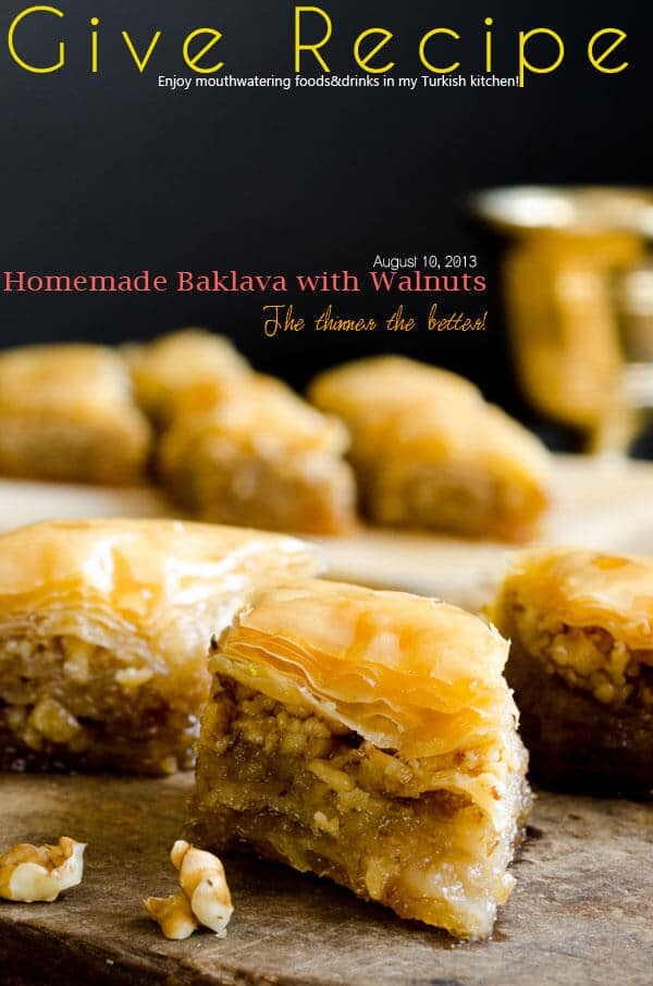 Homemade #Baklava for #Eid
