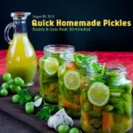 Quick Homemade Pickles1 150x150