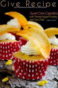 Savory Sweet Corn Cupcakes