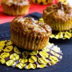 Whole Wheat Cheese and Zucchini Muffins | #muffins #zucchini #savory #feta #snack | giverecipe.com