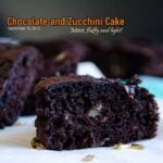 Chocolate and Zucchini Cake 1 150x150