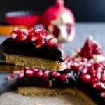 No Bake Chocolate Pomegranate Tart 1 150x150
