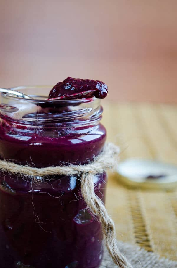Sourish Blueberry Marmalade 4
