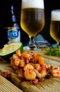 Spicy Shrimp with Tomato Sauce