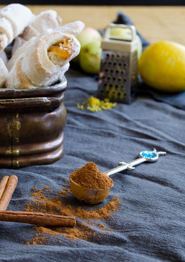 Cinnamon Walnut and Apple Rolls   giverecipe.com   #apple #cookies #cinnamon #walnut